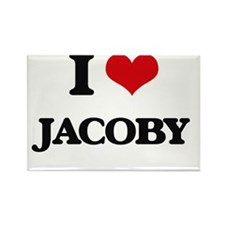 I Love Jacoby Magnets