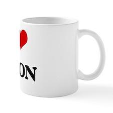 Cute I heart jadon Mug