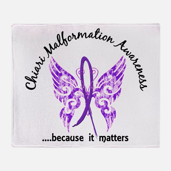 Chiari Butterfly 6.1 Throw Blanket