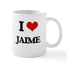 I Love Jaime Mugs