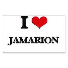 I Love Jamarion Decal