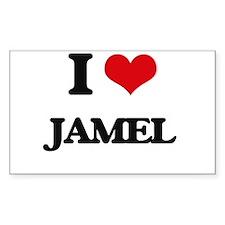 I Love Jamel Decal
