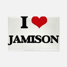 I Love Jamison Magnets