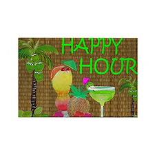 Funny Cocktails Rectangle Magnet (10 pack)