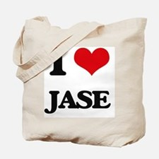 Cute I love jase Tote Bag
