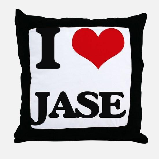 Cute Jase Throw Pillow