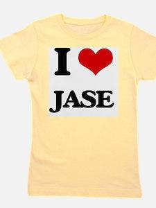 Cute I love jase Girl's Tee