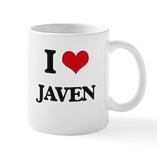 I Love Javen Mugs