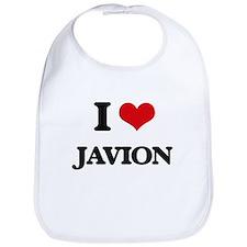 I Love Javion Bib