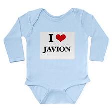 I Love Javion Body Suit