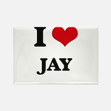 I Love Jay Magnets