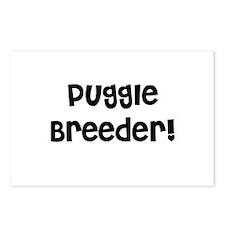 Puggle Breeder Postcards (Package of 8)
