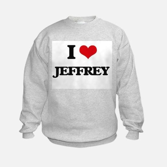 I Love Jeffrey Sweatshirt