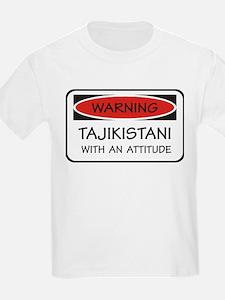 Attitude Tajikistani T-Shirt