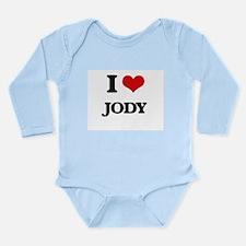 I Love Jody Body Suit