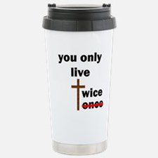 you only live twice 10x Travel Mug