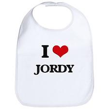 I Love Jordy Bib