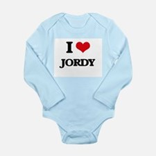 I Love Jordy Body Suit