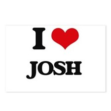 I Love Josh Postcards (Package of 8)