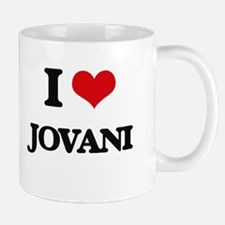 I Love Jovani Mugs