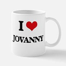 I Love Jovanny Mugs