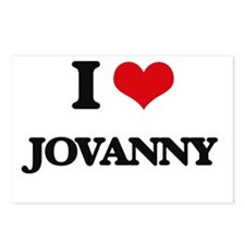 I Love Jovanny Postcards (Package of 8)