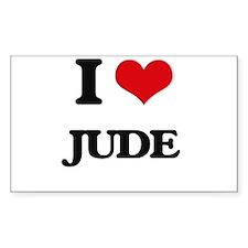 I Love Jude Decal