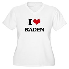 I Love Kaden Plus Size T-Shirt