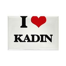 I Love Kadin Magnets