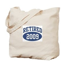 Retired 2009 (blue) Tote Bag