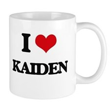 I Love Kaiden Mugs
