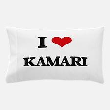 I Love Kamari Pillow Case