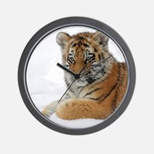 Tiger_2015_0103 Wall Clock