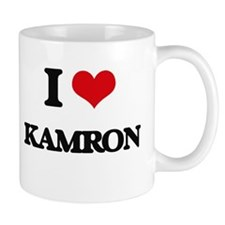 I Love Kamron Mugs