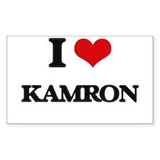 I Love Kamron Decal