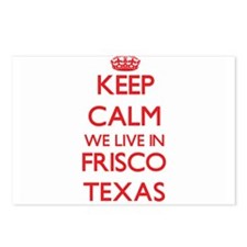 Keep calm we live in Fris Postcards (Package of 8)