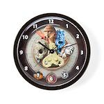'Radio Gods' wall clock