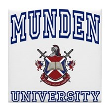 MUNDEN University Tile Coaster