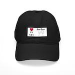 LOVE MY KIDS-PROUD PARENT Black Cap