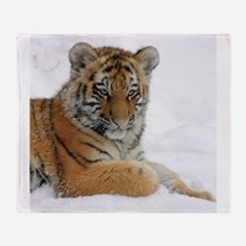 Tiger_2015_0104 Throw Blanket