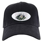 DAISY FLOWER Black Cap