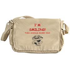 rugby joke Messenger Bag