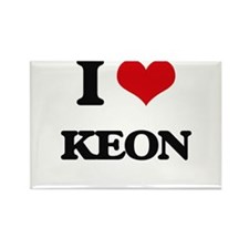 I Love Keon Magnets