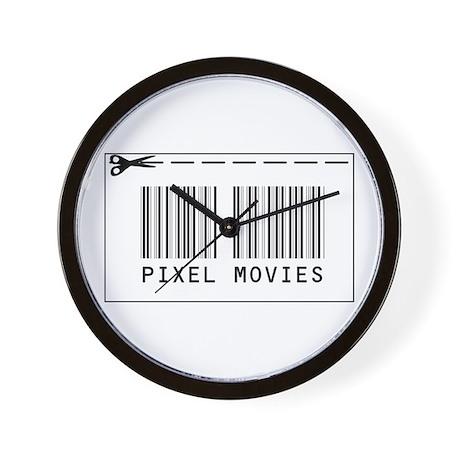 piXel Movies Wall Clock