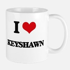 I Love Keyshawn Mugs