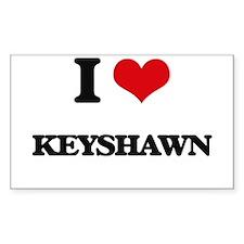 I Love Keyshawn Decal