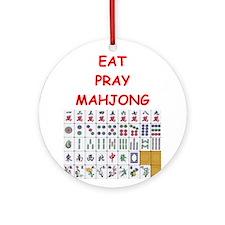 mahjong joke Ornament (Round)