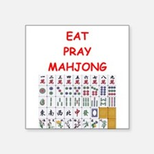 mahjong joke Sticker