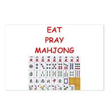 mahjong joke Postcards (Package of 8)