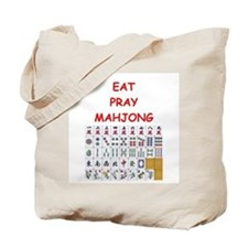 mahjong joke Tote Bag